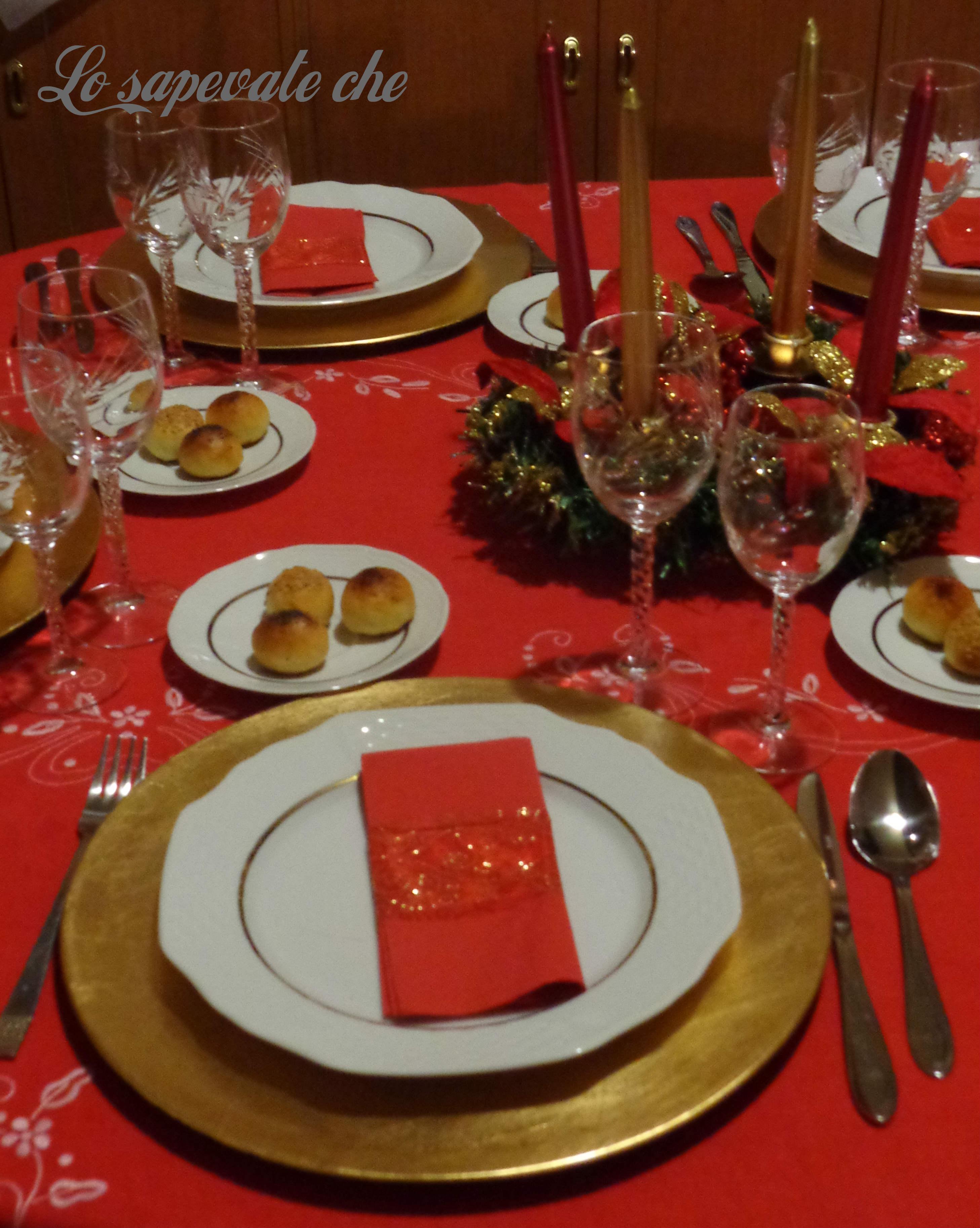 Arredare Tavola Natale come apparecchiare la tavola di natale | lo sapevate che